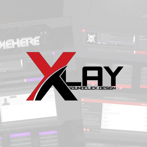 XLay - Premade & Custom Soundclick Layouts Design