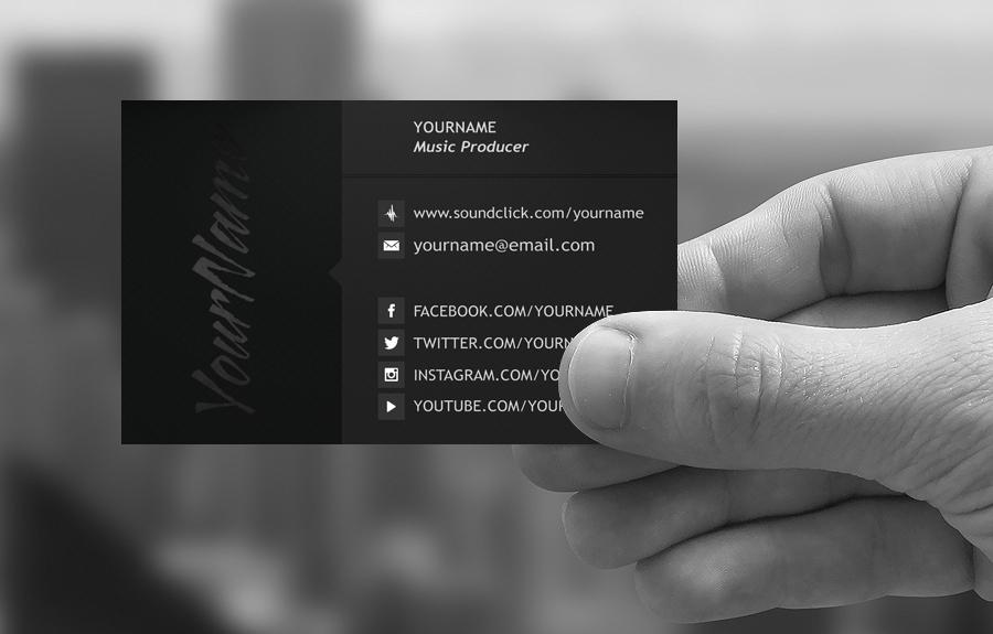 Premade Business Card Design #BC01 - XLay