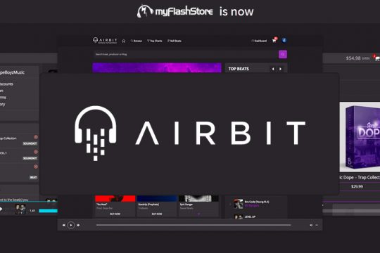 myFlashStore is now Airbit Annoucement By Wasim New Features